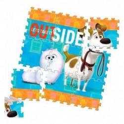 Tapete Para Niños Rompecabezas Diseño Mascotas (Entrega Inmediata)