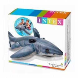 Tiburón Inflable Piscina Niños Intex 57525 (Entrega Inmediata)