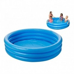 Piscina Inflable Intex De 114x25 Azul Para Niños (Entrega Inmediata)