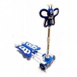 Scooter Patineta Monopatin Tijera Diseño Azul (Entrega Inmediata)