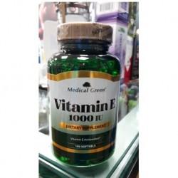 Vitamina E 1000mg X 100 Medical Green (Entrega Inmediata)