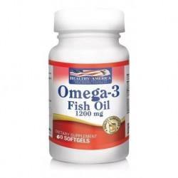 Omega 3 X60 Caps 1200mg Fish Oil He - (Entrega Inmediata)