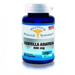 Centella Asiatica 400 Mg 60 Cap Natural Systems (Entrega Inmediata)