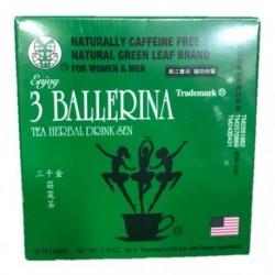 Té 3 Ballerinas 30 Tizanas Sistem Te Herbal (Entrega Inmediata)