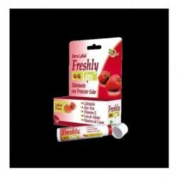 Barra Labial Medicinal Natural Freshly X5 G Fresa (Entrega Inmediata)