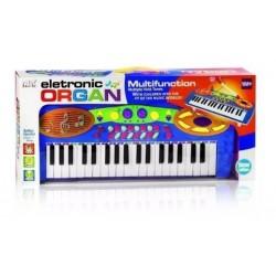 Piano Organeta Para Niños 37 Teclas, Micrófono + Envío (Entrega Inmediata)