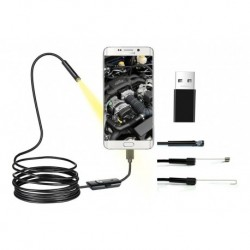 Camara Inspeccion Tipo C Endoscopio Android 3en1 Sonda Usb (Entrega Inmediata)