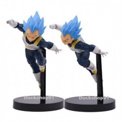 Figura Vegeta Blue Dragon Ball Super + Llavero (Entrega Inmediata)