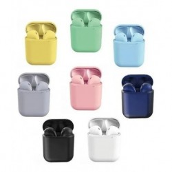 Audífonos Inpods 12 Bluetooth 5.0 Multicolor Touch (Entrega Inmediata)