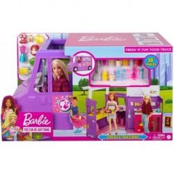 Set Food Truck Barbie Mattel Gmw07 Muñeca Accesorios Cocina (Entrega Inmediata)
