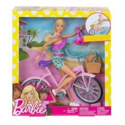 Barbie Paseo En Bicicleta Mattel Orignial Ftv96 Muñeca Niñas (Entrega Inmediata)