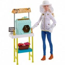 Barbie Cuidadora De Abejas Quiero Ser Apicultora Ref. Frm17 (Entrega Inmediata)