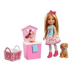 Barbie Chelsea Muñeca Tienda Mascotas Mattel Fhp67 Fhp66 (Entrega Inmediata)
