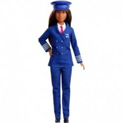 Muñeca Barbie Piloto Carreras 60 Aniversario Mattel Gfx25 (Entrega Inmediata)