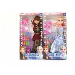 Muñecas Frozen Elsa Y Ana Hermanas Con Accesorios Zapatos819 (Entrega Inmediata)