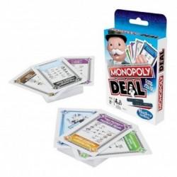Monopoly Deal Juego De Cartas Hasbro Gaming E3113 (Entrega Inmediata)