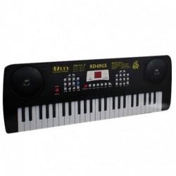 Piano Organeta Eléctrica Micrófono Musical Sd4915 (Entrega Inmediata)