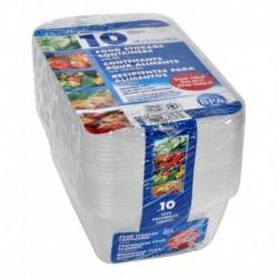 10 Contenedores De Almacenamiento De Alimentos (Entrega Inmediata)