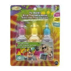 Kit Tie Dye Juego Para Teñir Ropa Tinte Con Nudos 3079287 (Entrega Inmediata)