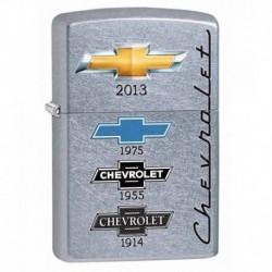 ¡ Zippo Stamp Chevy Logos Street Chevy Timeline 28846 !! (Entrega Inmediata)
