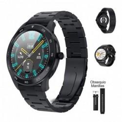 Reloj Inteligente Smartwatch Dt98 Resistente Al Agua + Pulso (Entrega Inmediata)