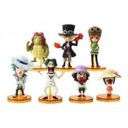 One Piece Figura Colección X7 Anime + Obsequio (Entrega Inmediata)