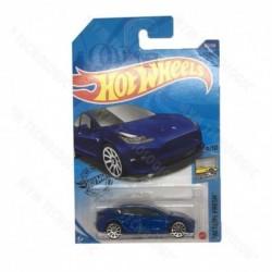 Carro Colección Hotwheels Juguete Factory Fresh Telsa Model3 (Entrega Inmediata)