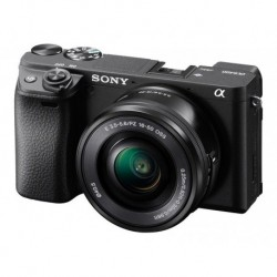 Cámara Sony A6400 24,2 Lente 16-50mm F/3.5-5.6 Pz (Entrega Inmediata)