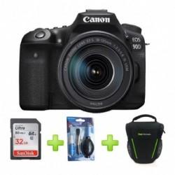 Camara Canon Eos 90d Lente 18-135mm Is Usm +32gb+bolso+kit (Entrega Inmediata)
