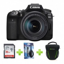 Camara Canon Eos 90d Lente 18-135mm Is Usm +16gb+bolso+kit (Entrega Inmediata)