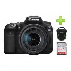 Camara Canon Eos 90d Lente 18-135mm Is Usm + 32gb + Bolso (Entrega Inmediata)