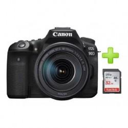 Camara Canon Eos 90d Lente 18-135mm Is Usm + 32gb (Entrega Inmediata)