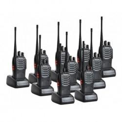 Radios Teléfono Baofeng Bf888s 2 Vias Paquete X 10 Original (Entrega Inmediata)