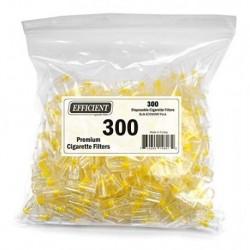 Eficient Filtros Desechables Cigarrillos X 300 Envio Ya (Entrega Inmediata)