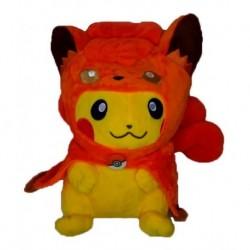 Peluche Pikachu Con Capa De Vulpix Pokemon G (Entrega Inmediata)