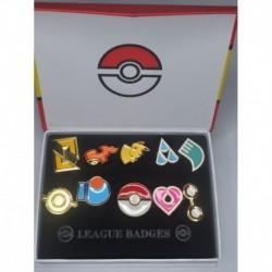 Pokemon Set X 10 Medallas Variadas A (Entrega Inmediata)