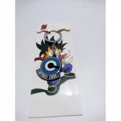 Dragon Ball Llavero Logo Corporación Capsule (Entrega Inmediata)