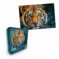 Rompecabezas X 1000 Piezas Colección Vida Tigre (Entrega Inmediata)