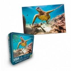 Rompecabezas X 1000 Piezas Colección Vida Tortuga Marina (Entrega Inmediata)