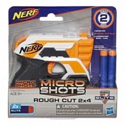 Nerf Microshots Rough Cut (Entrega Inmediata)