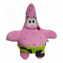 Patricio -estrella De Mar - Bob Esponja. 31 X 27 Cm. Peluche (Entrega Inmediata)