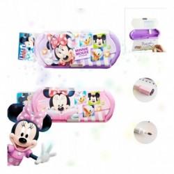 Cartuchera Minnie Mouse Niña Escolar Didáctica Cartera (Entrega Inmediata)