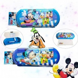 Cartuchera Mickey Mouse Niños Escolar Didáctica Cartera (Entrega Inmediata)