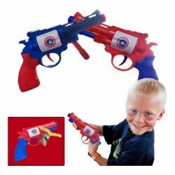Pistola Balines Capitán América Juegos Jugueteria Didáctico. (Entrega Inmediata)