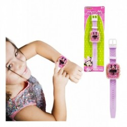 Minnie Reloj Digital Juguete Didáctico Jugueteria Niñas (Entrega Inmediata)