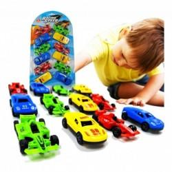 Carros Set X 12 Juegos Juguetes Didácticos Colección Niño (Entrega Inmediata)