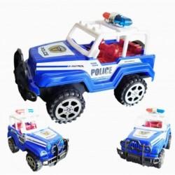 Carro Policia Fricción Juguete Impulso Juguetería (Entrega Inmediata)