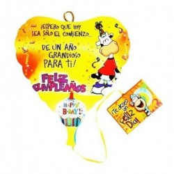 Paleta Feliz Cumpleaños Mensajes Decoracion, Piñatas Regalos (Entrega Inmediata)