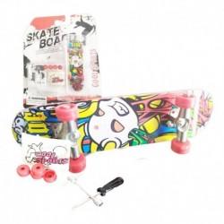 Skate Tabla Mini Patineta Juguete Coleccionista Juguetería (Entrega Inmediata)