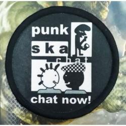 Parches Punk Bordado 8cm Accesorio Calcomania (Entrega Inmediata)